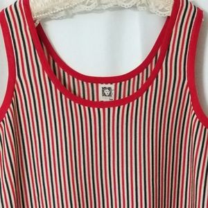 Anne Klein Striped Knit